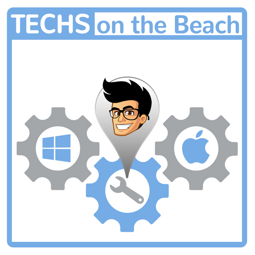 Techs-on-the-Beach® Company Logo